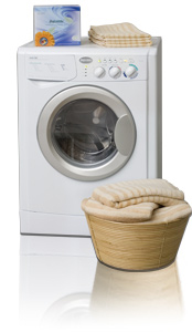 Splendide 2100XC (WD2100XC) Extra Capacity Washer-Dryer shown in Arctic White