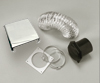 Splendide #VI-D403AC Deluxe Dryer Vent Kit for vented combo washer-dryers and compact clothes dryers
